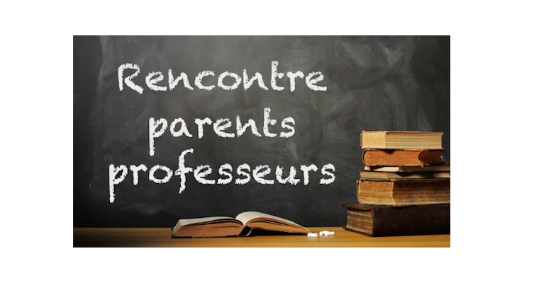Rencontres parents-professeurs 1er trimestre 2019-2020